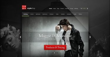 StyleShop 2.2.7 – электронная коммерция тема для WordPress