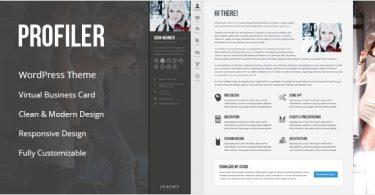 Шаблон для блога Wordpress
