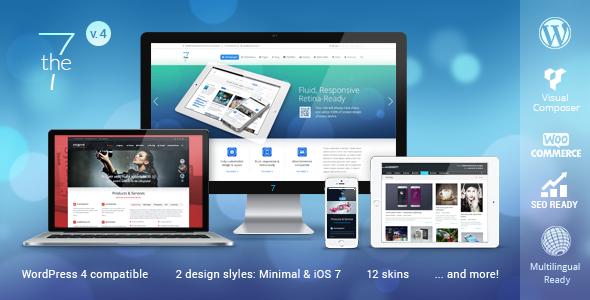 The7 v4.0.2 - универсальный шаблон для WordPress