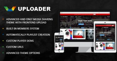 Шикараная тема WordPress СМИ Uploader 2.2.2