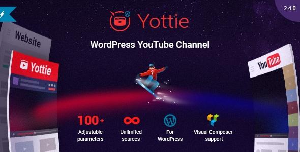 Yottie-это мощный WordPress плагин для YouTube