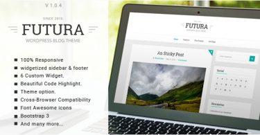 Универсальный шаблоны для Wordpress Futura