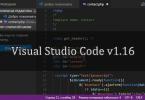 Visual Studio Code v1.16 - кроссплатформенный редактора кода