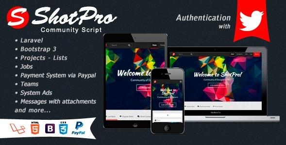 Сообщество графических дизайнеров ShotPro v.2.1