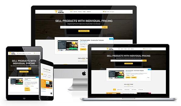 Скрипт продажи цифровых товаров Theme Portal Marketplace