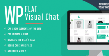 WP Flat Visual Chat v5.372